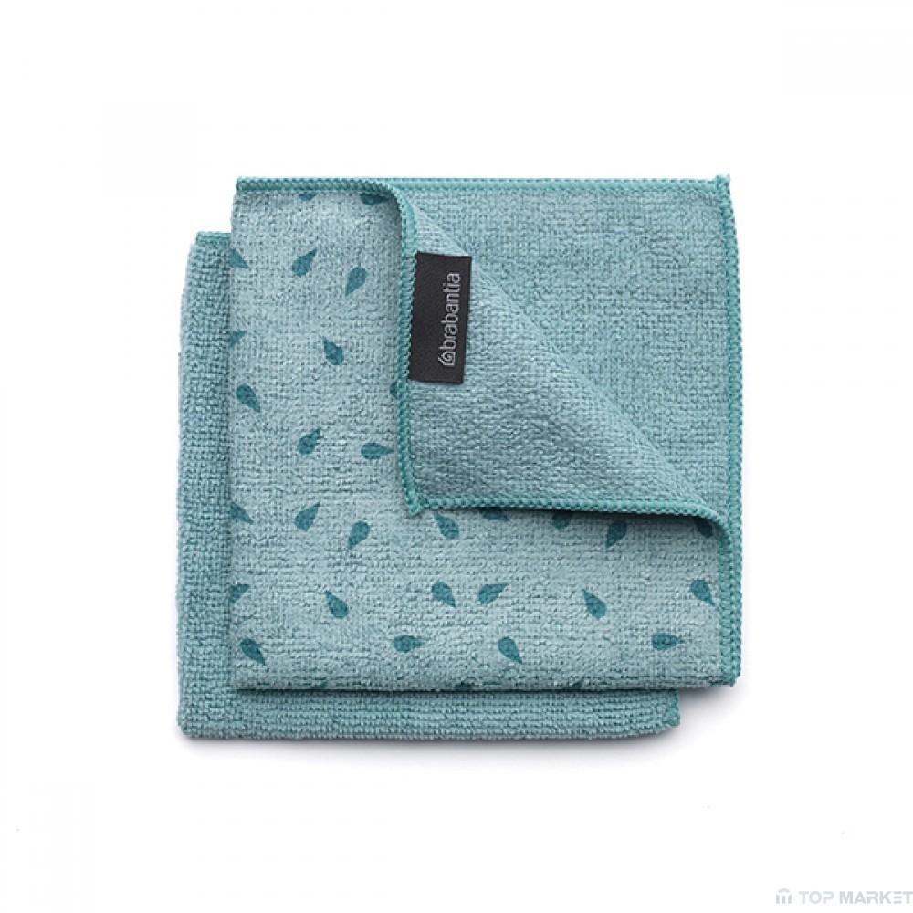 Микрофибърна кърпа за съдове, 2 бр, Brabantia, Mint