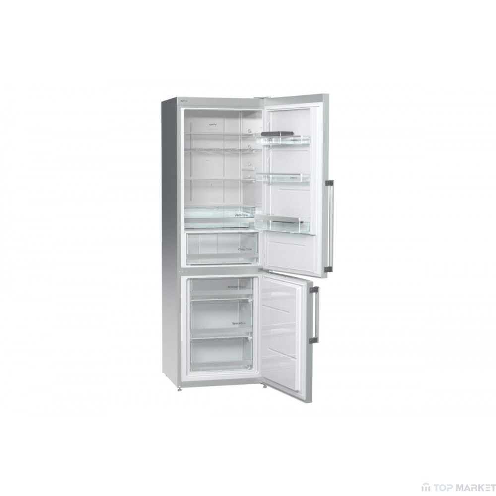 Хладилник фризер Gorenje NRK6191TX