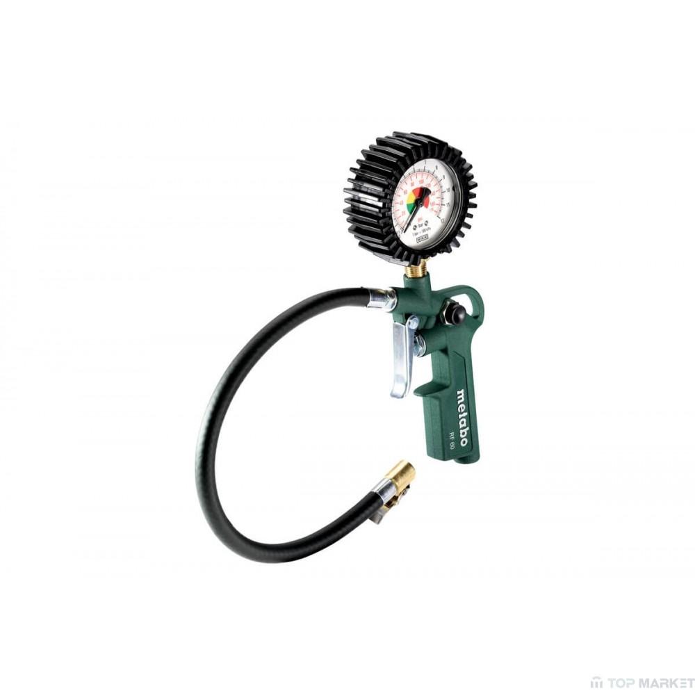 Пистолет за помпане на гуми METABO RF 60