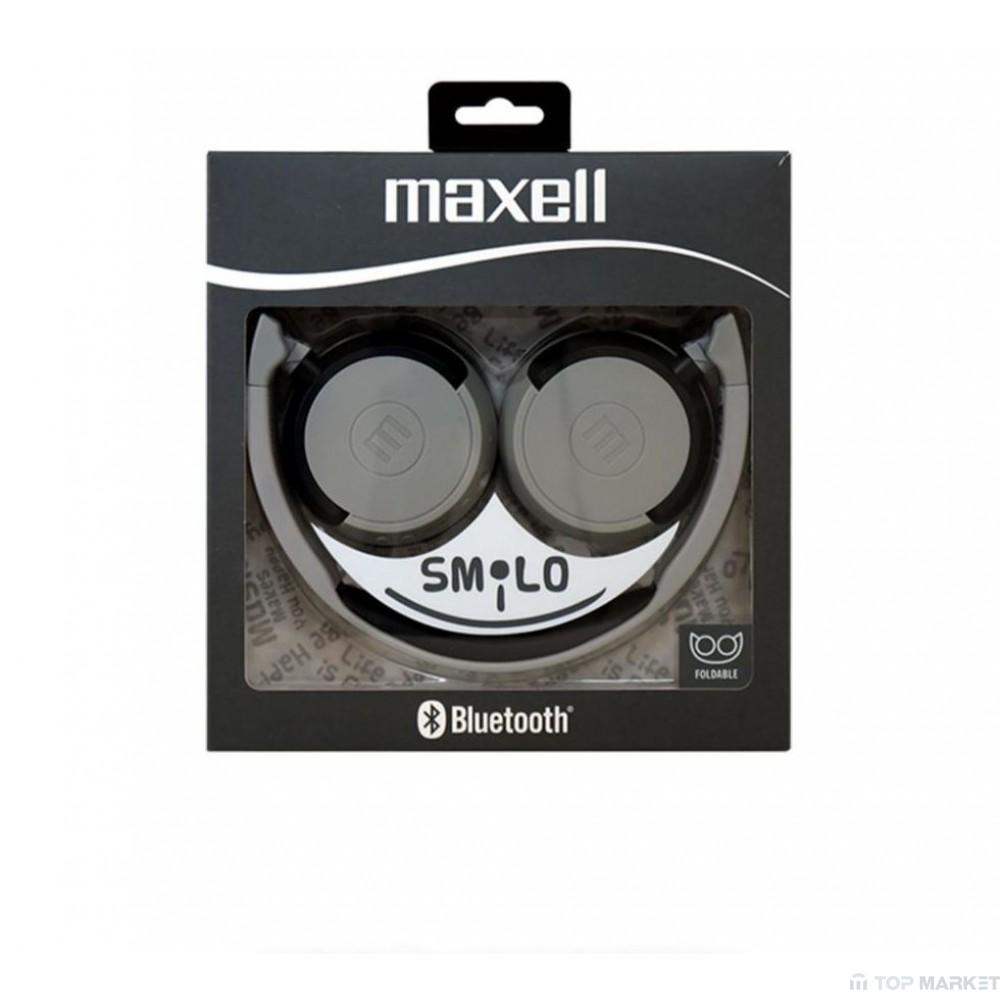 Слушалки MAXELL ML-AH-BT400 BLACK
