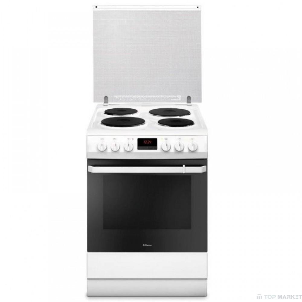 Готварска печка HANSA FCEW682109 с електрически плот