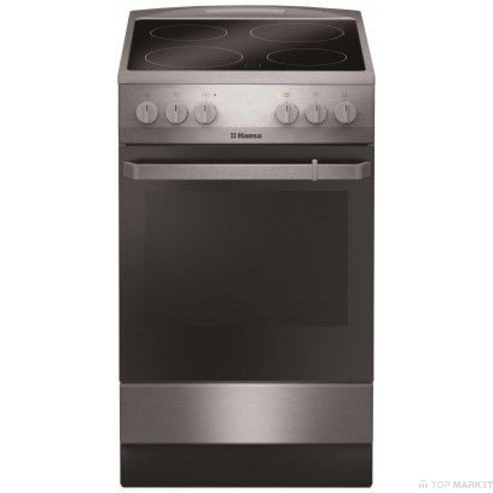Готварска печка HANSA FCCX580009 със стъклокерамичен плот