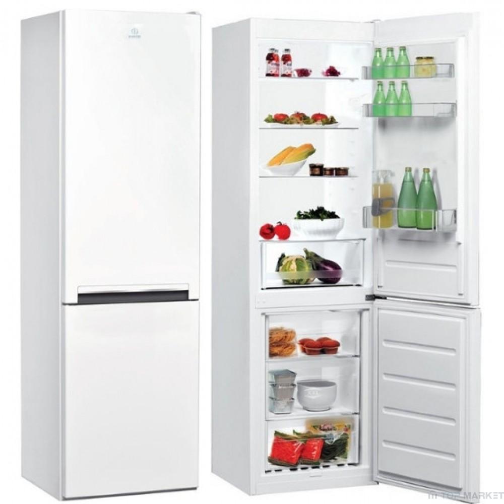 Хладилник-фризер INDESIT LI6 S1 W