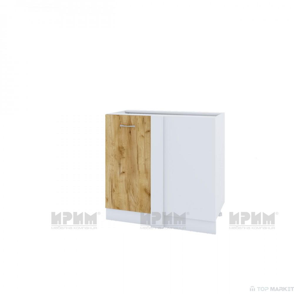 Долен ъглов шкаф City БДД-142