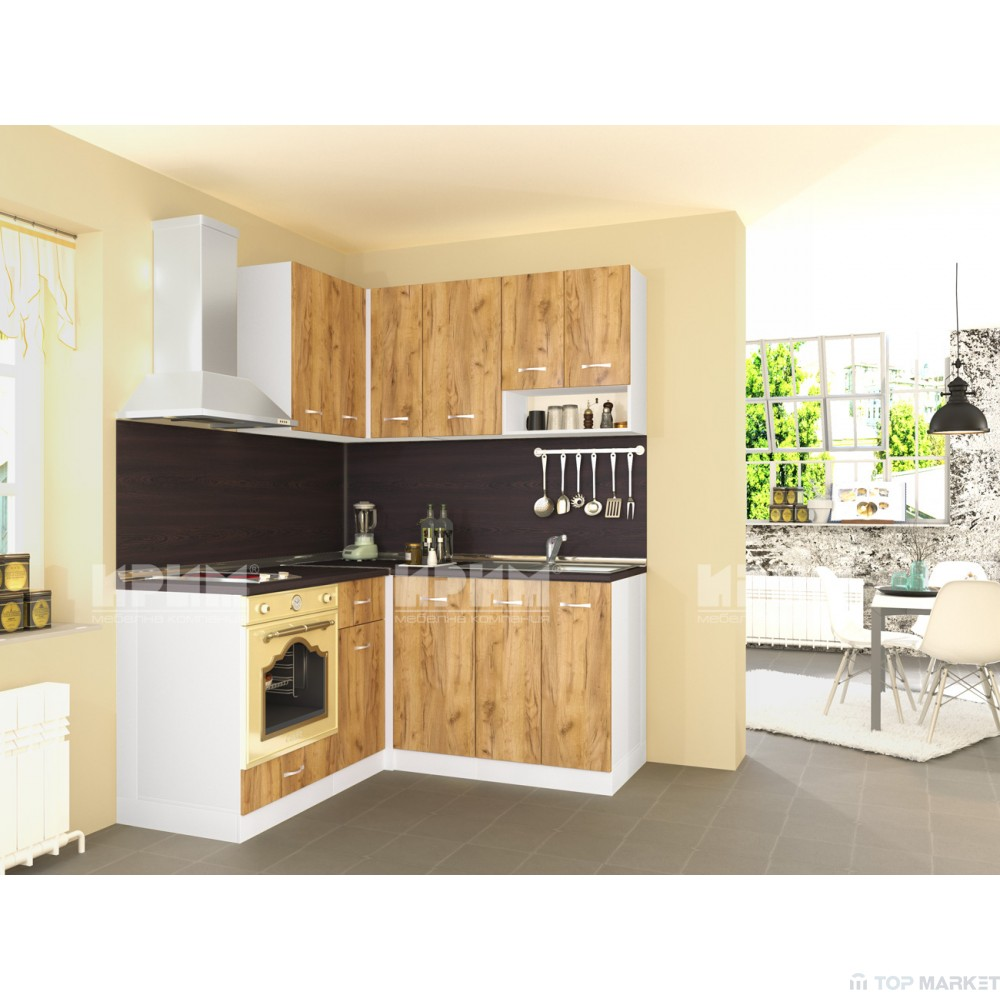 Кухненски комплект City 431 ъглов