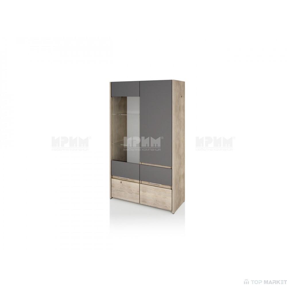 Шкаф витрина City 358