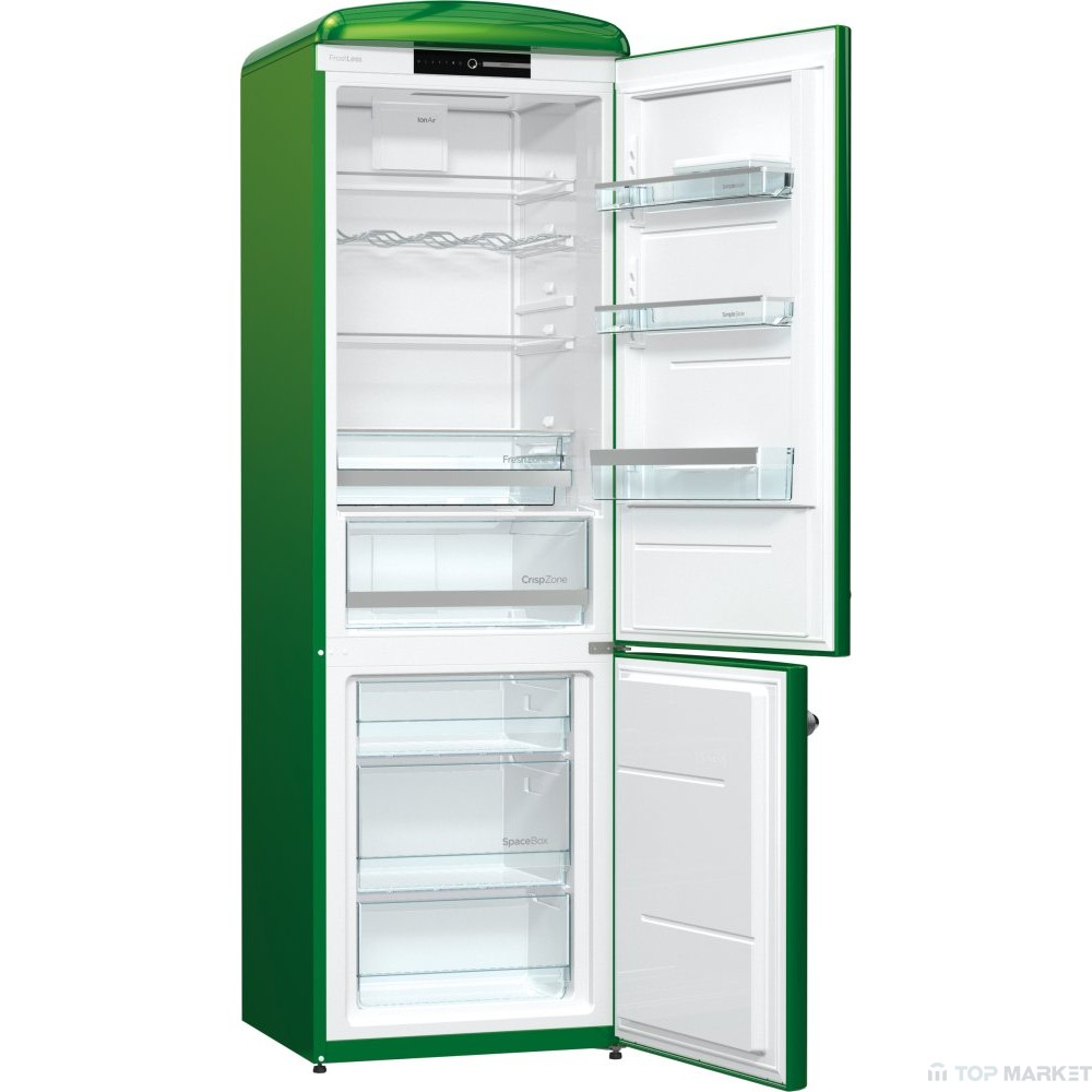Хладилник с фризер gorenje ORK192GR