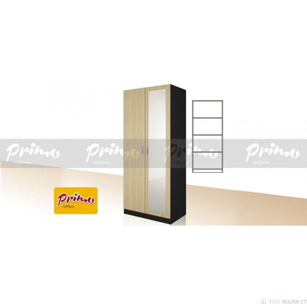 Двукрилен гардероб Primo 10