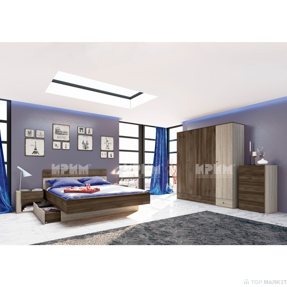Спален комплект Фабио
