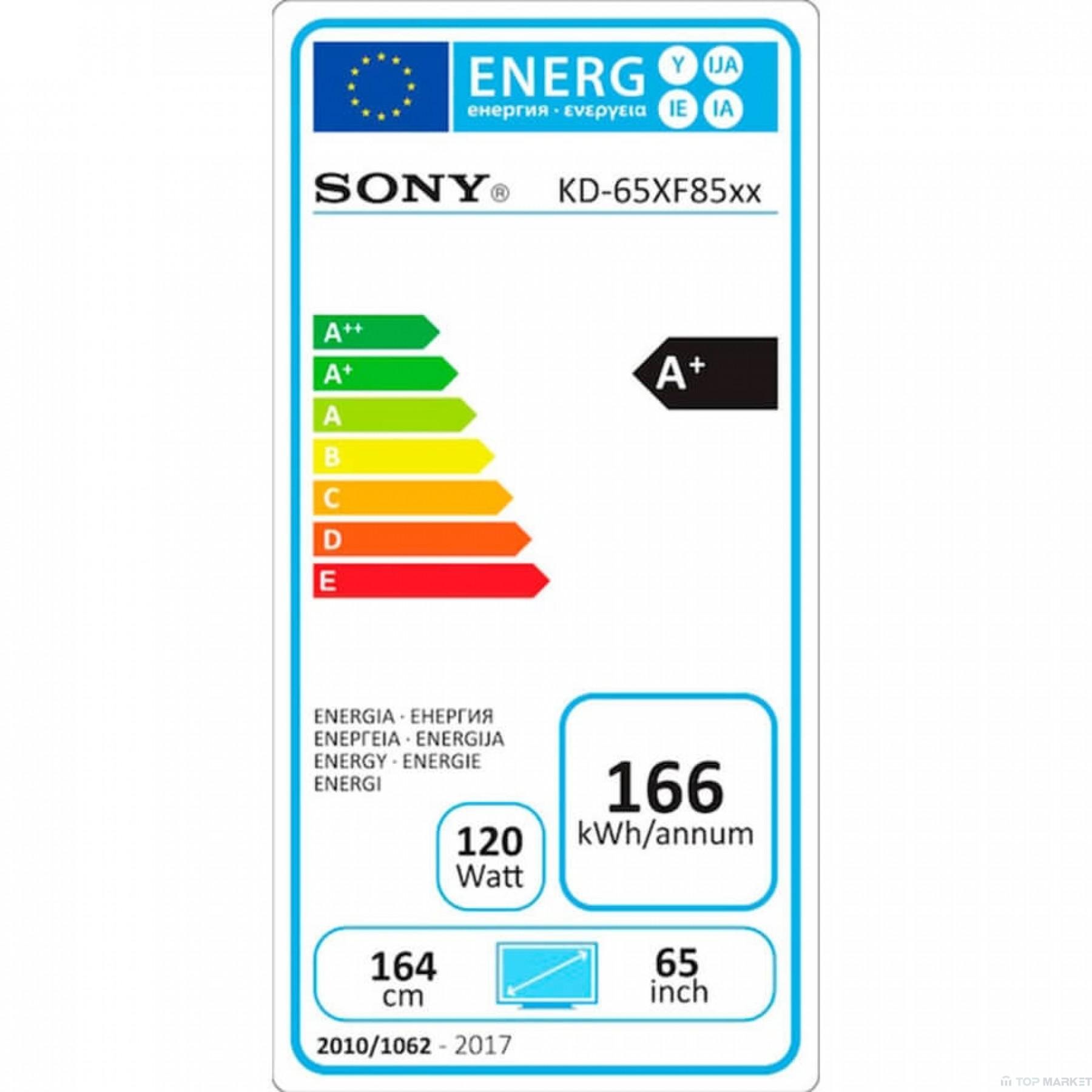 Телевизор SONY KD65XF8577S 4K HDR TV BRAVIA Triluminos