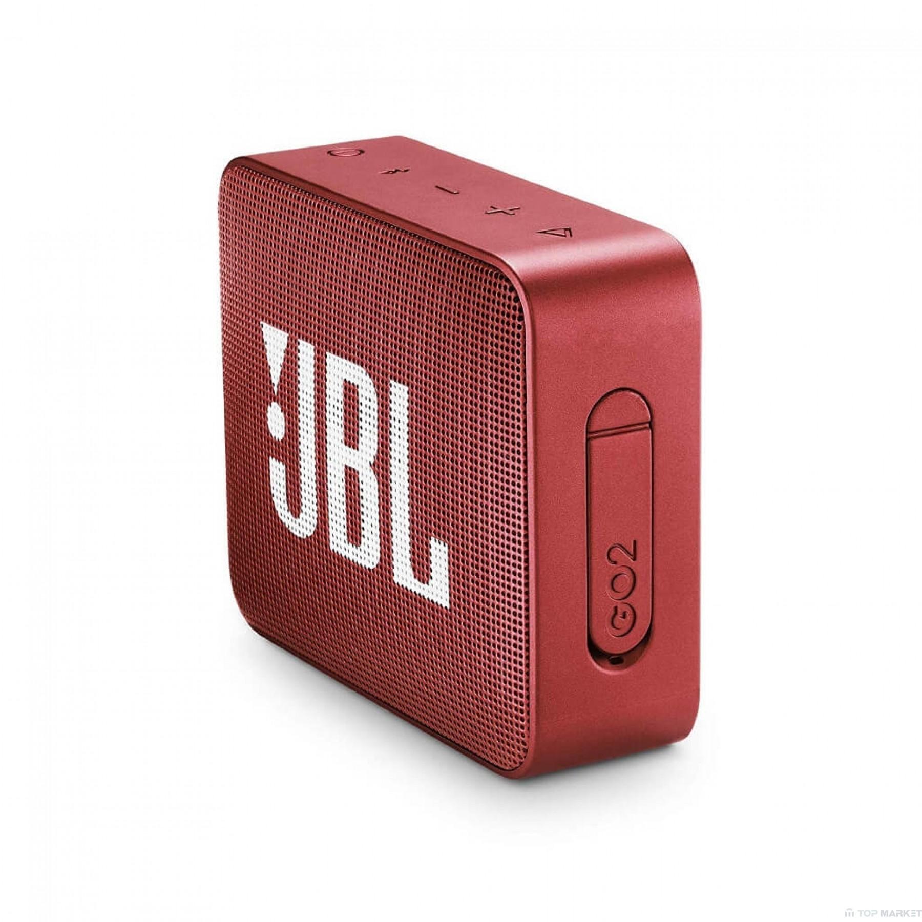 Колонка JBL GO2 RED