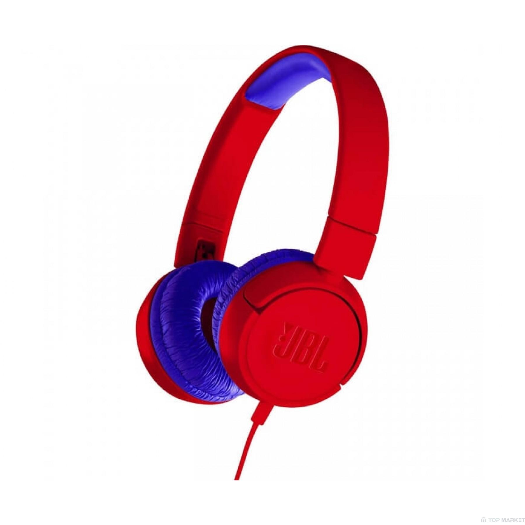 Слушалки  JBL JR 300 RED