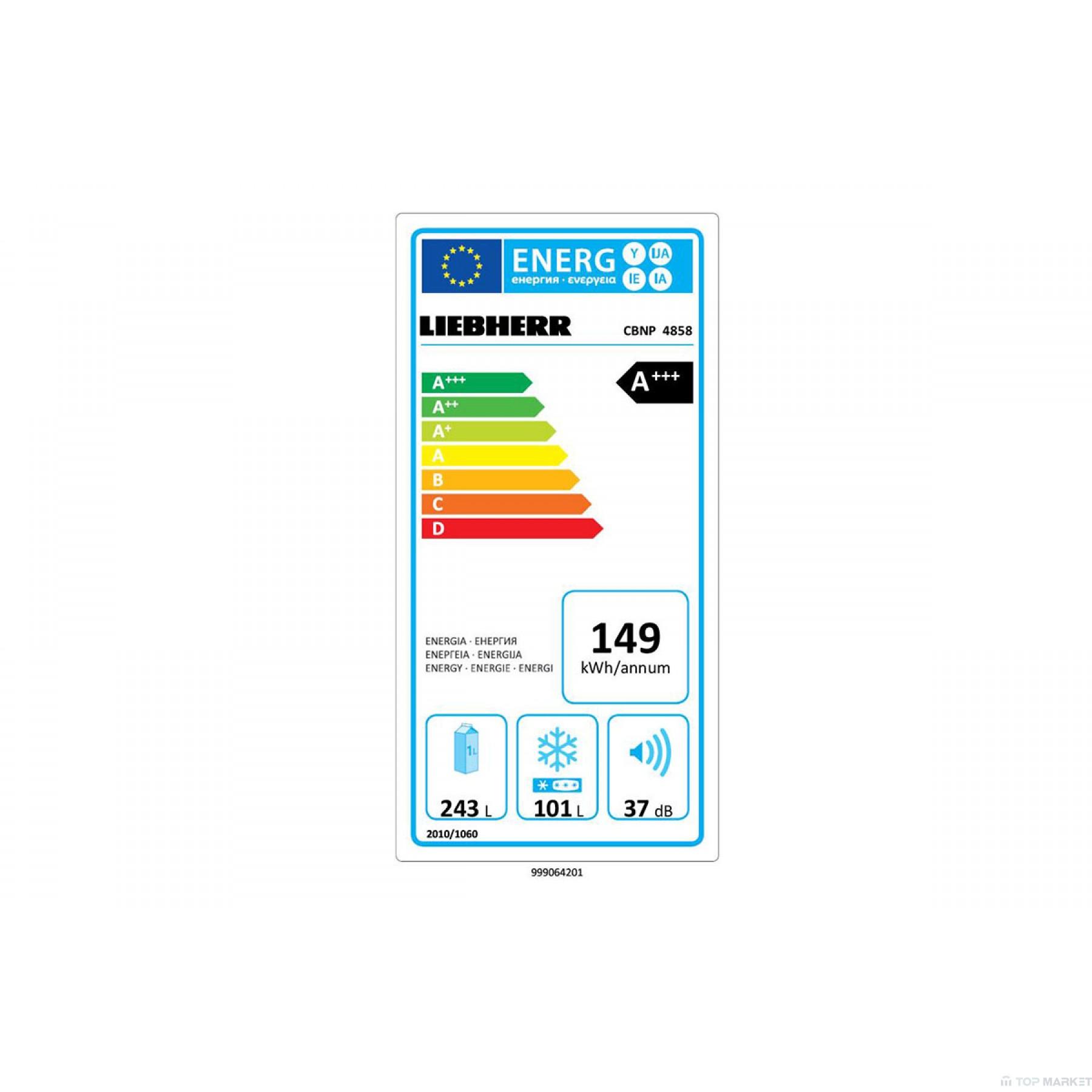 Хладилник   фризер LIEBHERR CBNP 4858