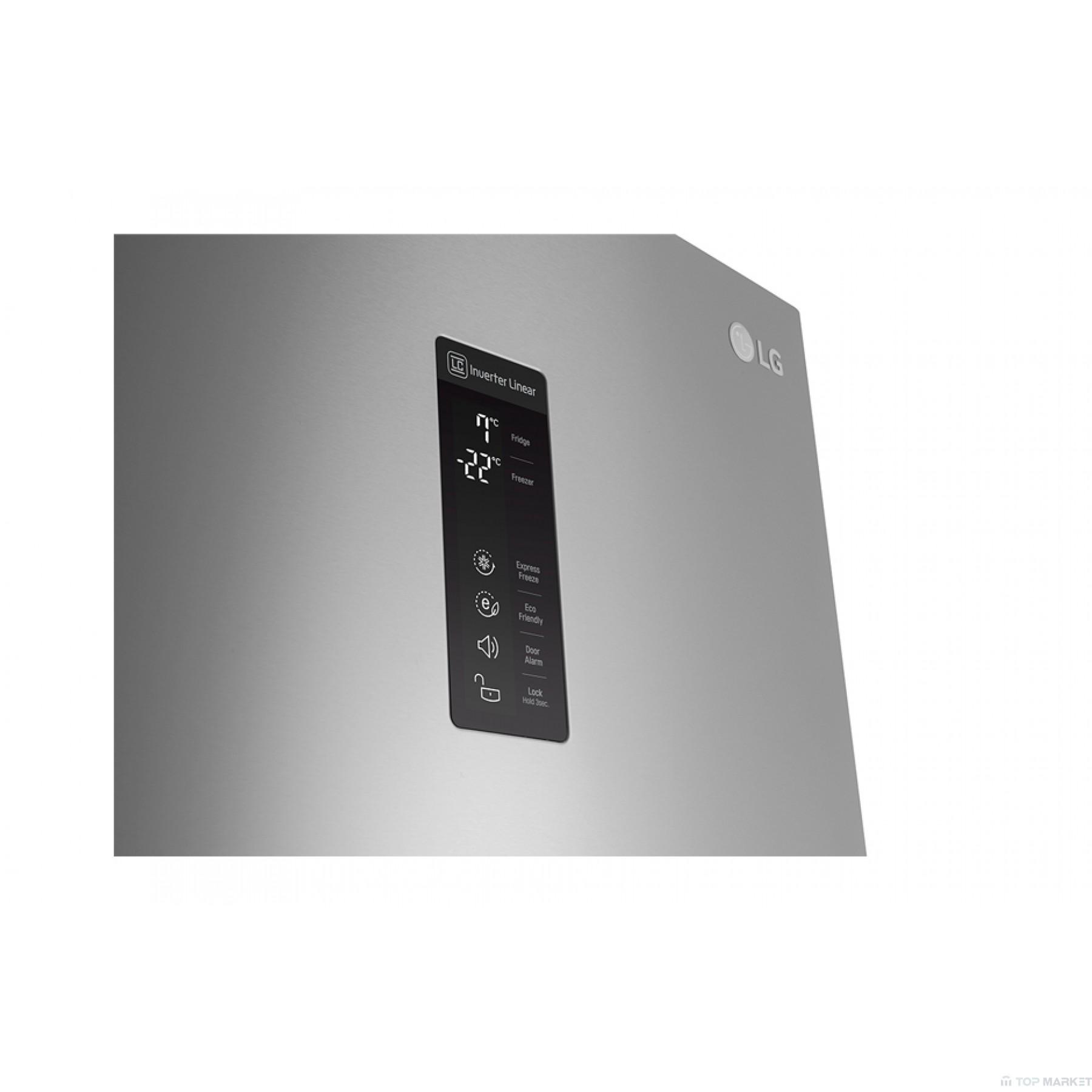 Хладилник фризер LG GBB59PZDZB