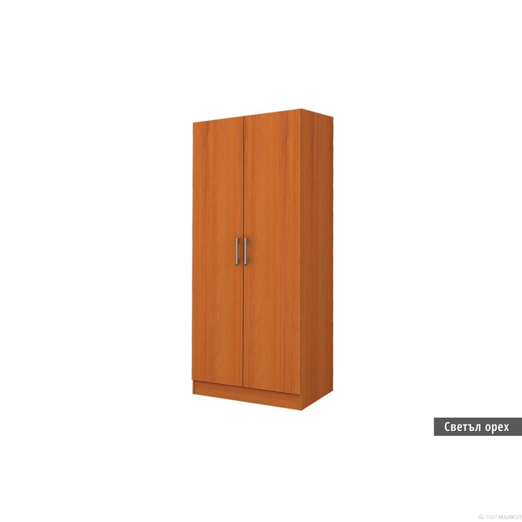 Двукрилен гардероб Аполо 1