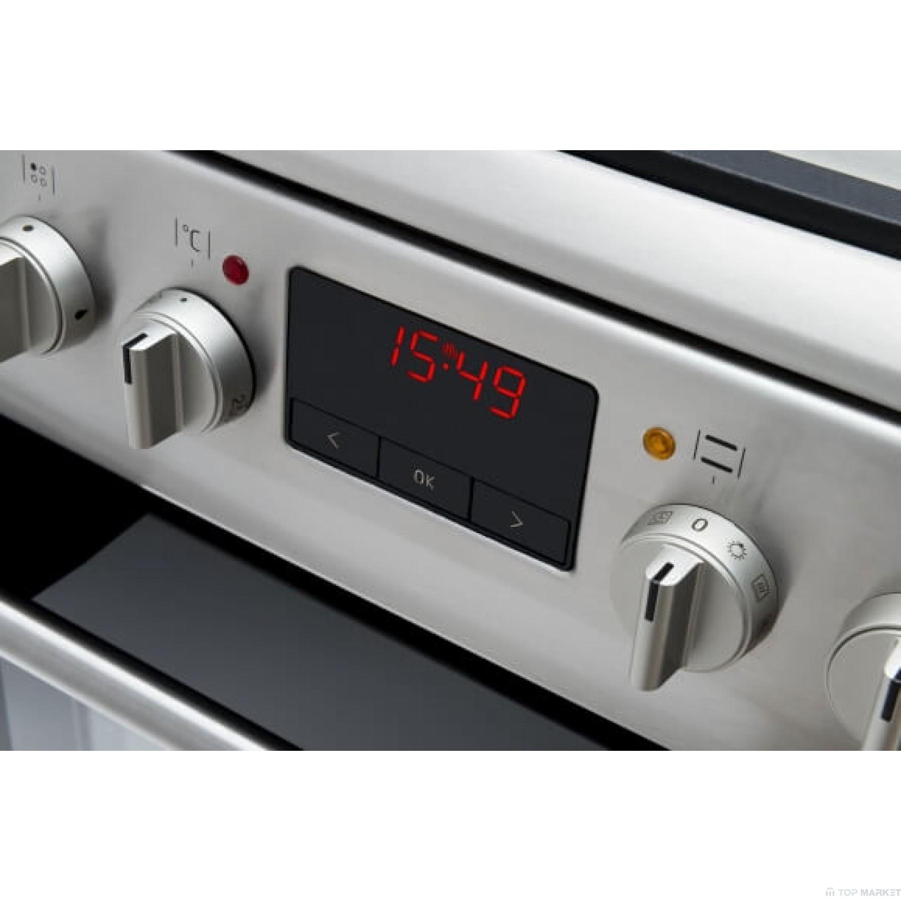 Готварска печка HANSA FCEX59209 с електрически плот