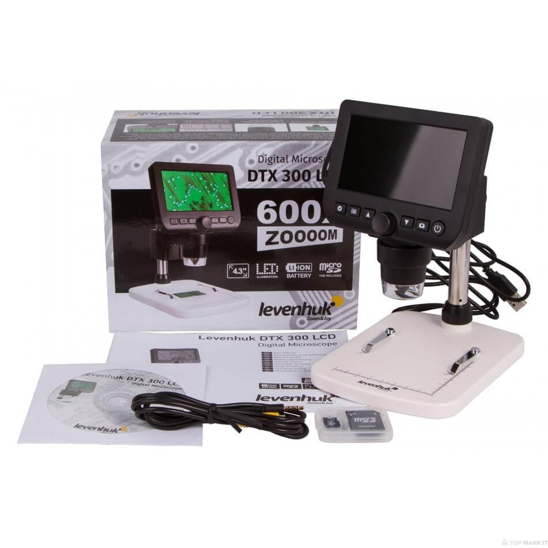 Цифров микроскоп Levenhuk DTX 300 LCD
