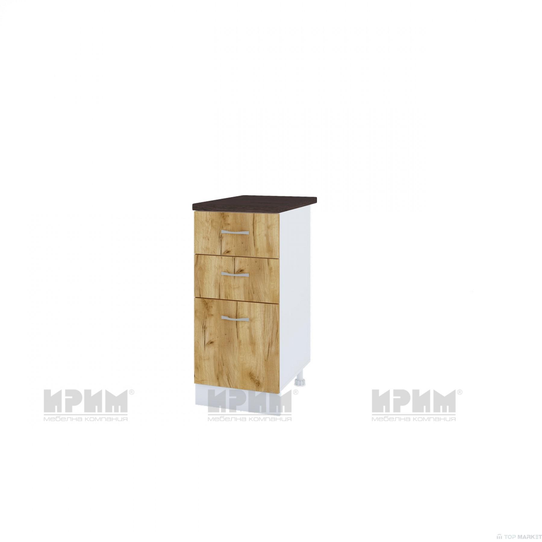 Долен шкаф City БДД-127