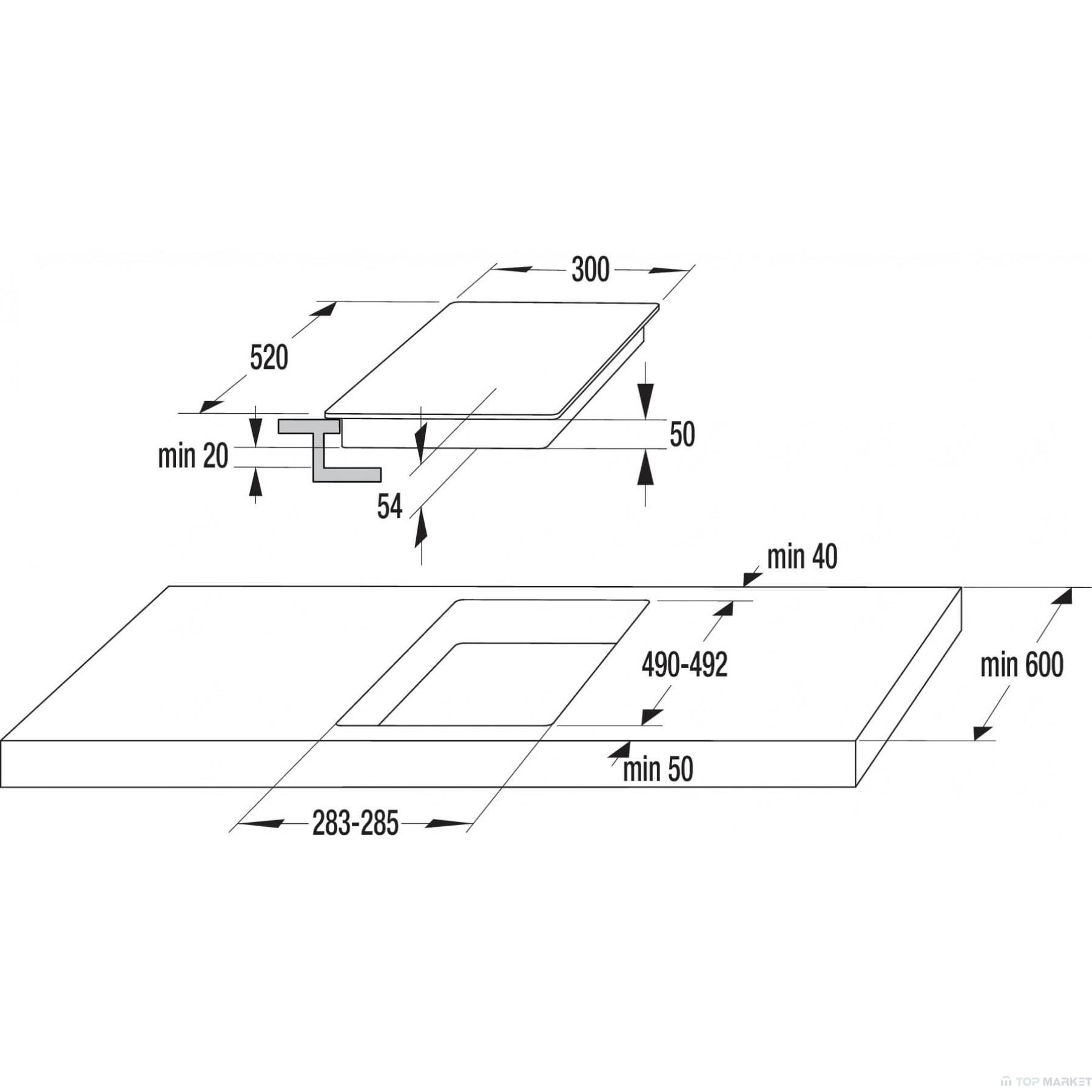 Индукционен плот за вграждане GORENJE IT321BCSC