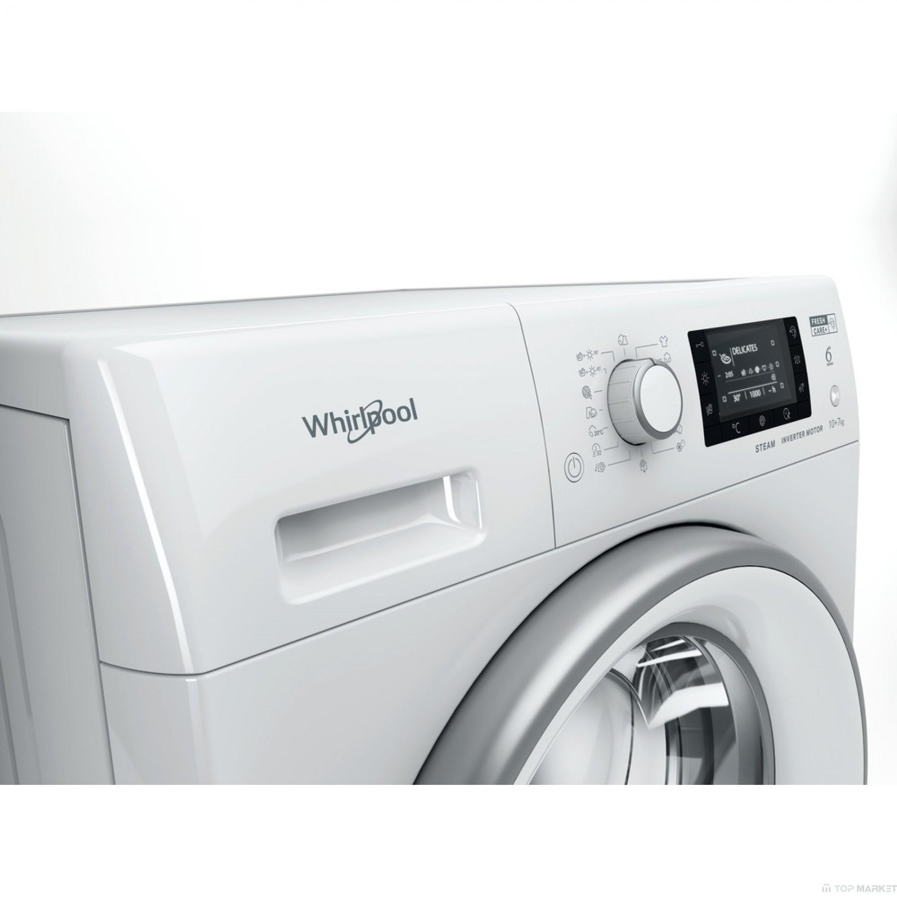 Пералня със сушилня WHIRLPOOL FWDD 1071682 WSV