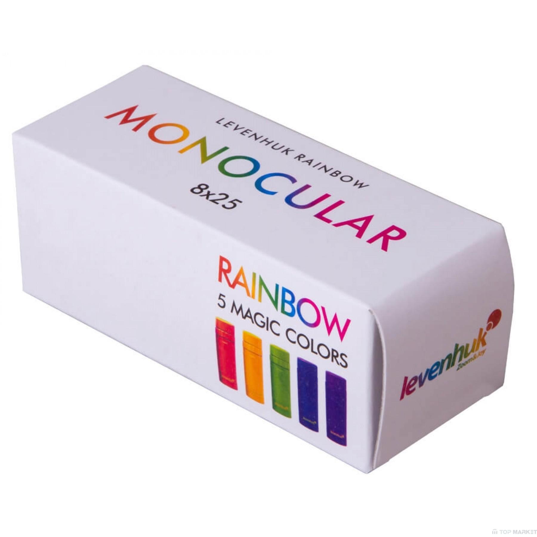 Монокъл LEVENHUK Rainbow 8x25 Blue Wave
