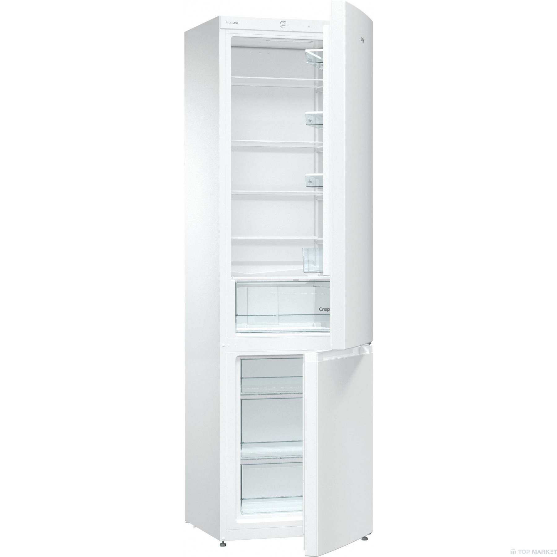 Хладилник фризер GORENJE RK621PW4