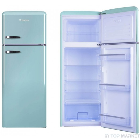 Хладилник-фризер HANSA FD 221.3J аквамарин