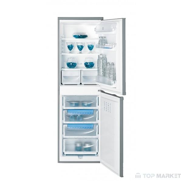 Хладилник фризер INDESIT  CAA 55 NX