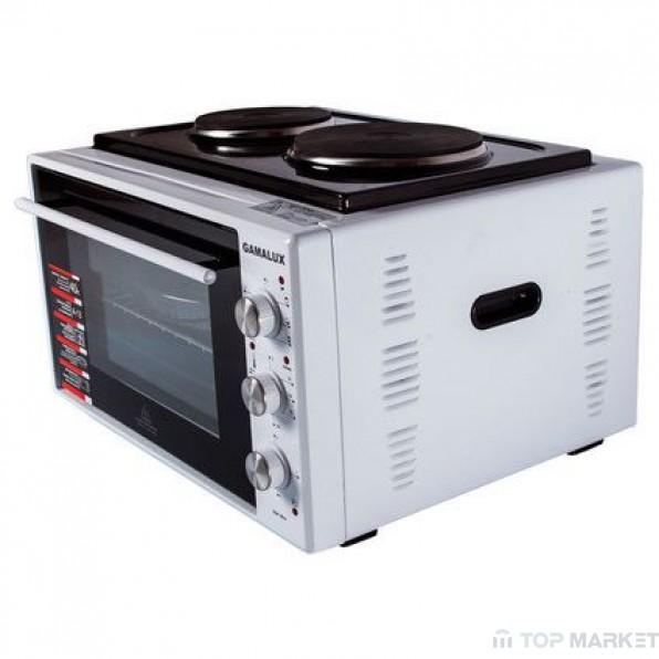Готварска печка GAMALUX I-08HP-2 white