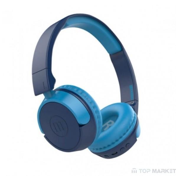 Слушалки MAXELL ML-AH-BT400 BLUE