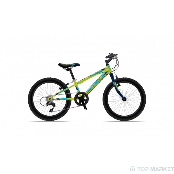 "Велосипед SPRINT BG18 CASPER 20"" 6 SP GRN M BLU/CYA"