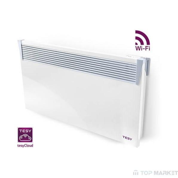 Kонвектор TESY CN 04 100 EIS CLOUD W за стенен монтаж