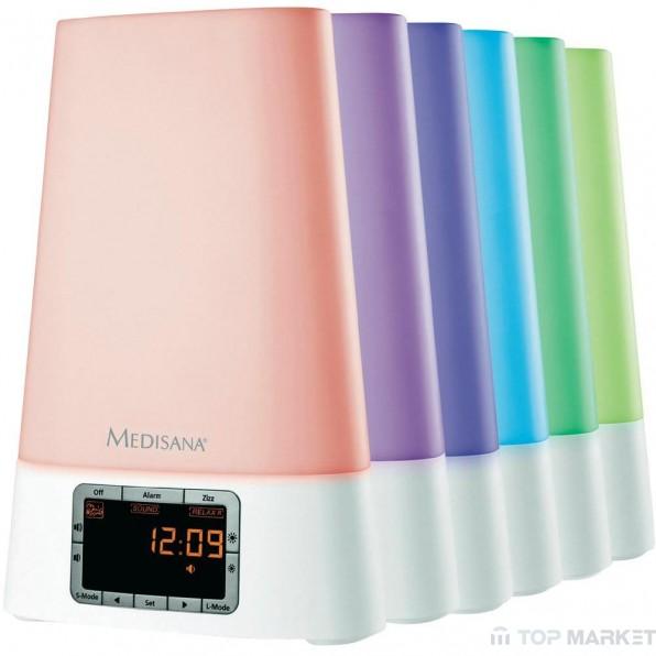 Симулатор на изгрев с радиочасовник Medisana Wake-up Light WL 450
