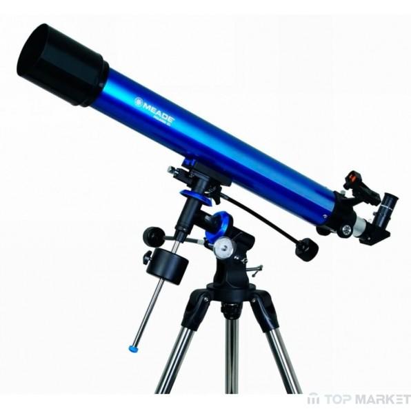Рефракторен телескоп Meade Polaris 90 mm EQ