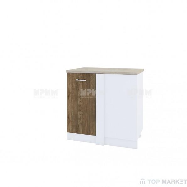 Долен ъглов шкаф City БЛ-242