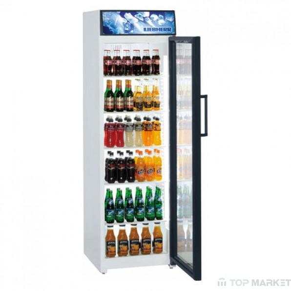 Професионална хладилна витрина LIEBHERR BCDv 4303 с рекламен дисплей