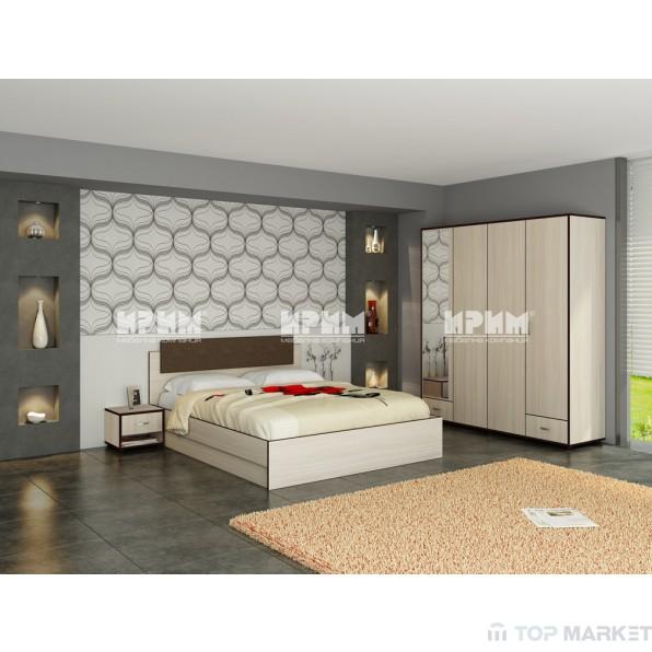 Спален комплект City 249