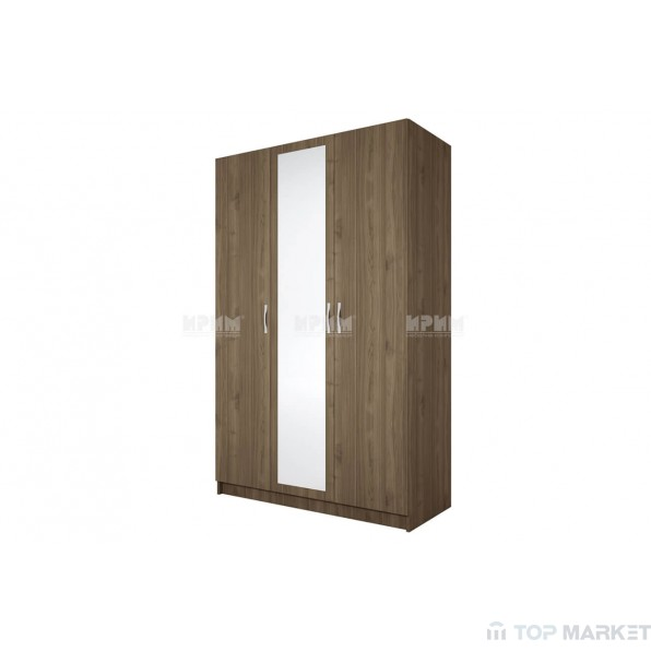 Трикрилен гардероб City 1003