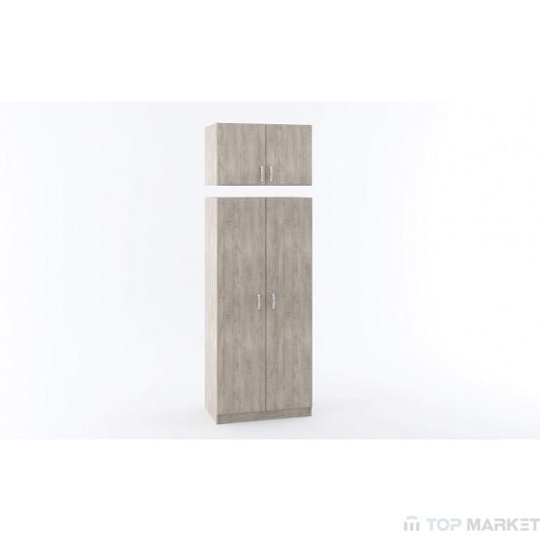 Надстройка за двукрилен гардероб М 016Е