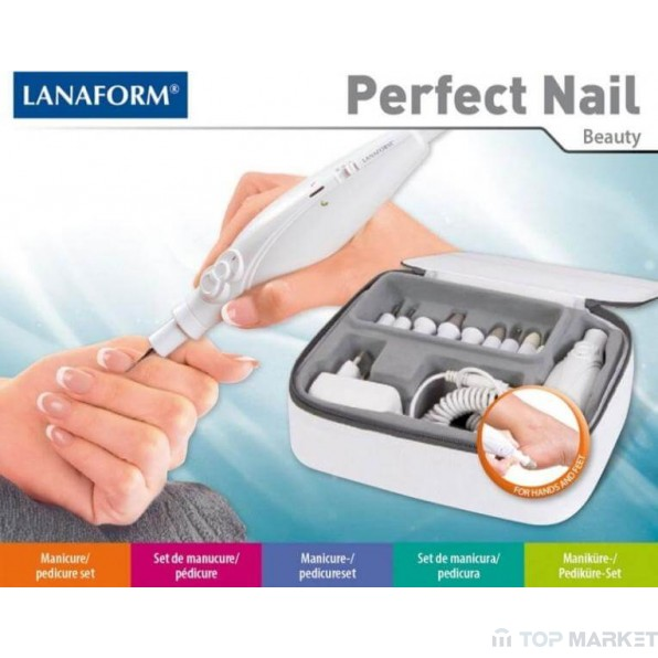 Уред за маникюр LANAFORM PERFECT NAIL LA130507
