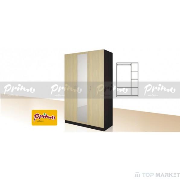 Трикрилен гардероб Primo 12