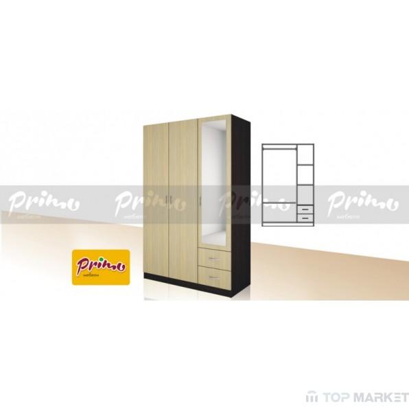 Трикрилен гардероб Primo14