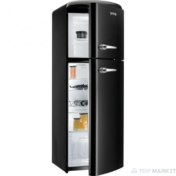 Хладилник  горна камера gorenje RF60309OBK