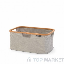 Сгъваем панер за пране Brabantia Linn, 40L, Grey
