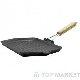 Тиган грил MUHLER MR-2416CI, 24 см