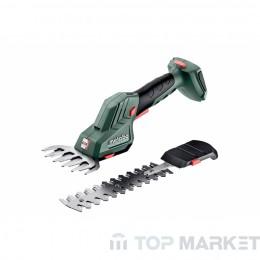 Ножица за трева и храсти акумулаторна METABO SGS 18 Q SOLO