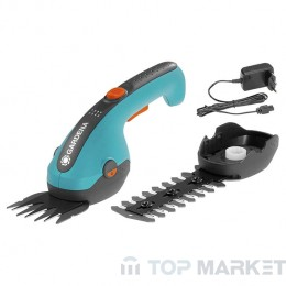 Ножица Gardena ClassicCut градинска акумулаторна за трева и храсти 3.6 V, 1.45 Ah, 125 мм, 80 мм