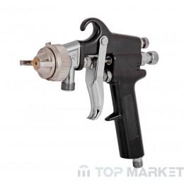 Пистолет за боядисване с казанче и маркуч RAIDER RD-PT02