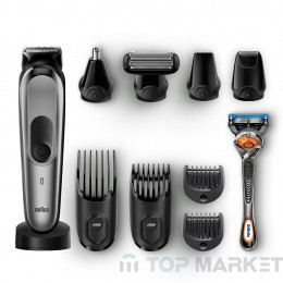 Машинка-тример BRAUN MGK7021 + самобръсначка Gillette