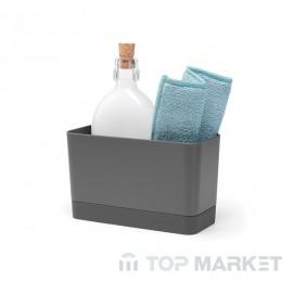 Органайзер за мивка, Brabantia, Dark Grey